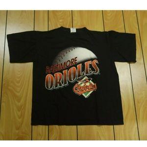 Vintage (1996) Baltimore Orioles T Shirt   Large